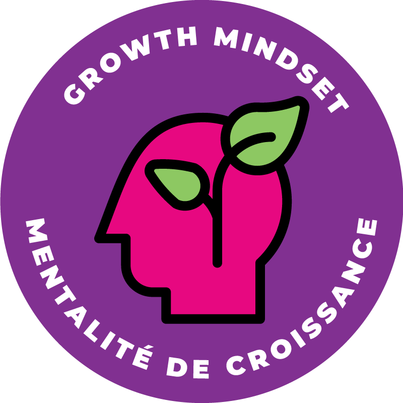 Hackergal Badge, Growth Mindset