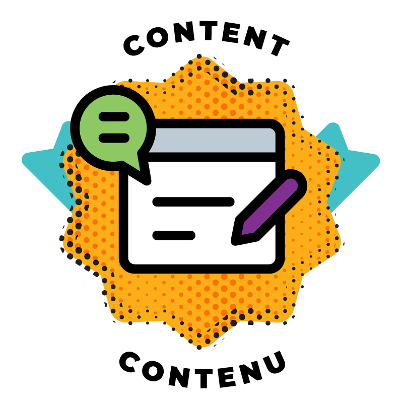 Hackergal Awards Badge for Content