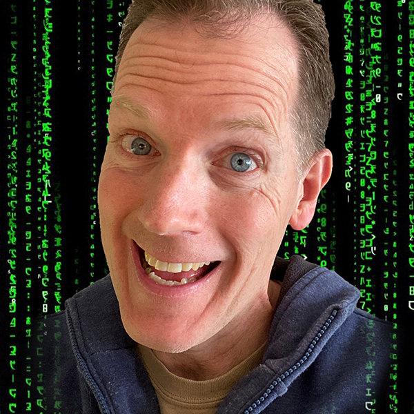 Hackergal Day speaker, Gregory Burke